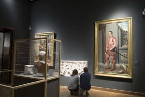 Warsaw museum installation
